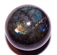 Шар из Лабрадорита (165 грамм)