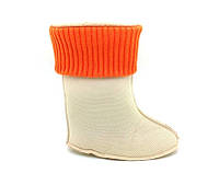 Съемный чулок, носок  для резиновых сапог Акварель. Размер: 25-36