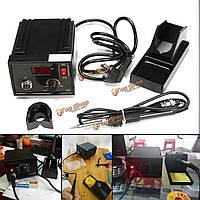 110В-220В 967 электрический инструмент переделки паяльная станция железо ЖК-дисплей отпайки SMD