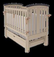 Кроватка Woodman Mia с ящиком, слоновая кость