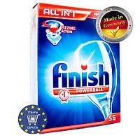 """Таблетки """"Finish All In 1"""" для посудомоечной машины, 56 шт"""
