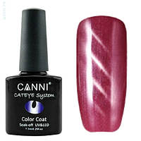 Кошачий глаз Canni 276 темно-розовый, 7,3 мл