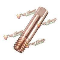 1шт MB15 МиГ сварочной горелки 0.9 х 25мм контактный наконечник