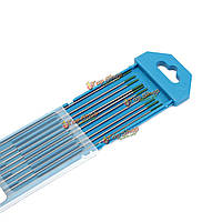10шт 1мм х 175мм зеленый наконечник чисто вольфрамовый электрод для аргонодуговой сварки