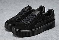 Кроссовки женские Puma x Rihanna Creeper Black/Black (пума)