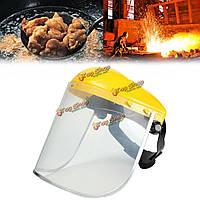 Электросварка защитная маска ясно, защитная маска безопасности защита глаз козырек для измельчителя gardenin