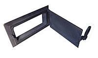 Зольная дверца чугунная(для чистки камина) - VVK 33 х 16 см/27х12см
