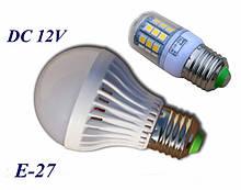 Светодиодные лампочки DC12 Вольт