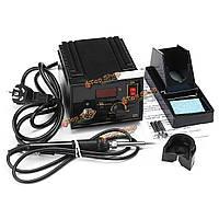 110В 220В 967 электрический инструмент переделки паяльная станция железо ЖК-дисплей отпайки SMD