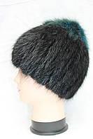Женская меховая шапка из меха лисы на трикотажной основе, от производителя, кубанка