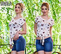 Женские джинсовые модные бриджи Турция. Арт-1963/13