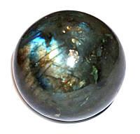 Шар из Лабрадорита (239 грамм)
