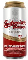 Пиво Budweiser budwar 12% 0.5 л ж/б