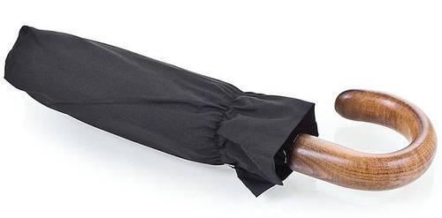 Качественный мужской зонт полуавтомат, Антиветер GUY de JEAN (Ги де ЖАН) FRH133500 черный
