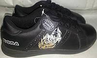 Кроссовки подростковые p37 BONA 194 черн