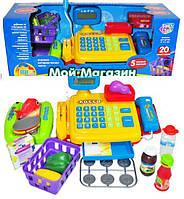 Кассовый аппарат с весами детский игровой набор Joy Toy 7018