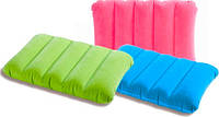 Надувная подушка INTEX 68676 цветная 43х28х9 см