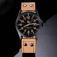 Мужские часы SOKI бежевые. Качественные часы. Стильный дизайн. Интернет магазин. Новая модель. Код: КДН747