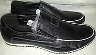 Туфли мужск эко-кожа BURHOE 201-6