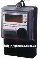 Счетчик электронный однофазный СО-ЭА15-О для многотарифного учёта активной электрической энергии «КоммунарСчет