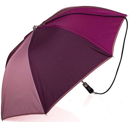Элегантный женский зонт, полуавтомат, Антиветер GUY de JEAN (Ги де ЖАН) FRH185204-2 фиолетовый