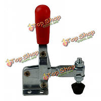 102б красным пластиковым покрытием ручки вертикальный ручной инструмент toggle зажим 100кг