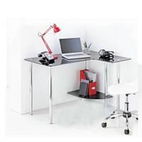 Офисный компьютерный стол из стекла Р-9 Эскадо