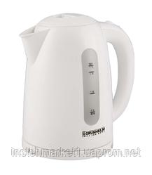 Электрочайник Grunhelm EKР-2217С белый (2,2 кВт, объём 1,7 л)