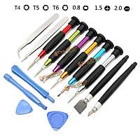 14в1  отвертки комплект для ремонта набор инструментов для мобильного телефона iPhone ноутбук планшетный ПК и т.д.