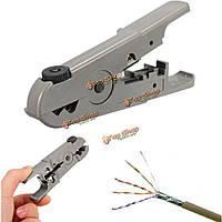 Универсальный роторный коаксиальный кабель коаксиальный UTP / STP кабель кусачки вскрыши для зачистки