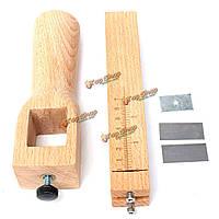 Отрегулировать кожа полоса ремень резак транспортные средства ручного инструмента режущий инструмент лезвием