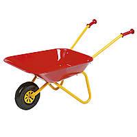 Тачка садовая детская красная Rolly Toys 270804