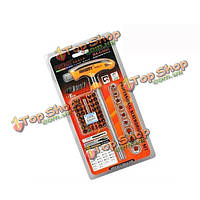 Jakemy JM-6106 многофункциональный 43в1 t-ручек ремонт дома послепродажного инструментов