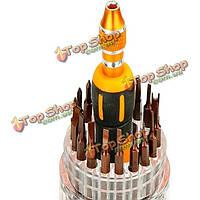 Jakemy JM-8117 37в1 многофункциональным сменными магнитное аппаратных Набор отверток инструментов ремонтных