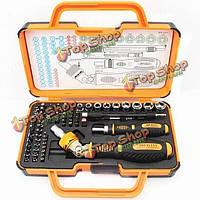 Jakemy JM-6111 69в1 аппаратном средстве отвертки восстанавливает открытый комплект сноса инструментов электронная линза устройств