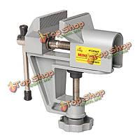 Rdeer отн-001 маленький тиски алюминиевый стол тиски высококлассные подвижный инструмент скамейке тиски