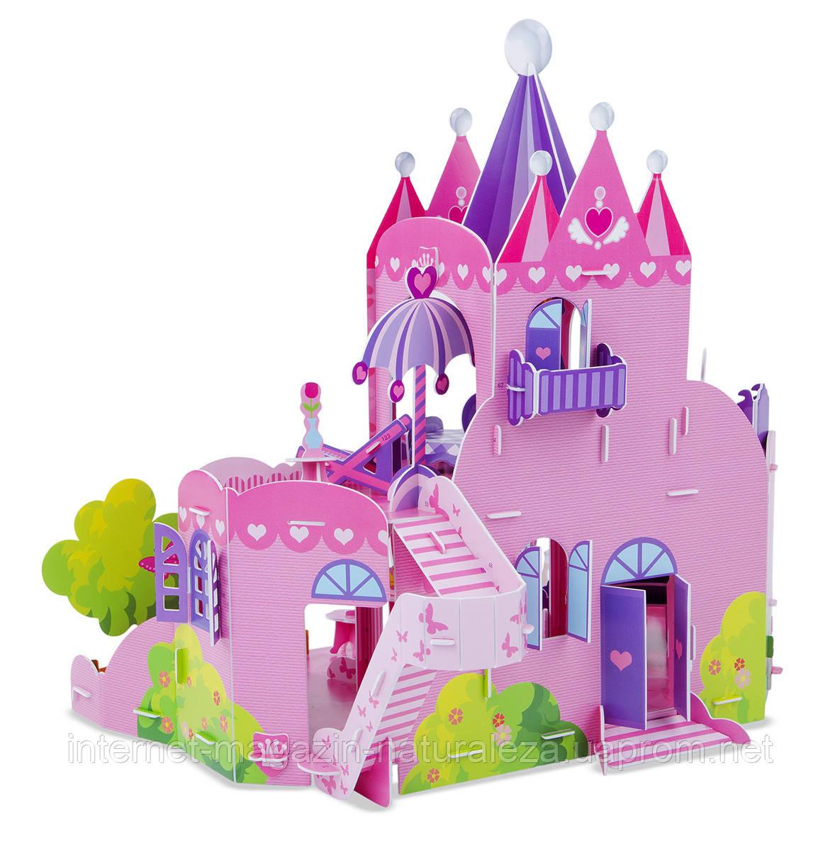3D пазлы Розовый Замок Melissa&Doug