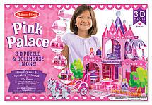 3D пазлы Розовый Замок Melissa&Doug, фото 2