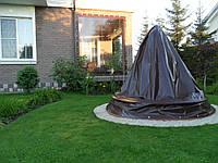 Пошив тентов из ПВХ ткани для фонтана