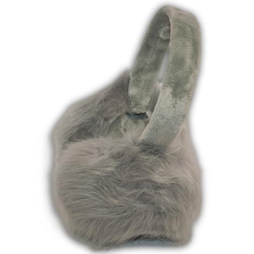 Наушники из искусственного меха лиса