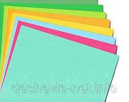 Бумага для дизайна Fotokarton B2 (50*70см) № 90 Черная, 300г/м2, Folia