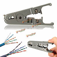 RJ45 RJ11 CAT5 cat6 удар вниз телефонной сети лан UTP кабеля резак для зачистки проводов