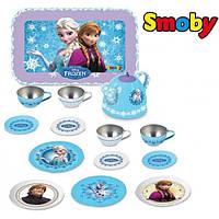 Чайный сервиз металлический Frozen Smoby 310512