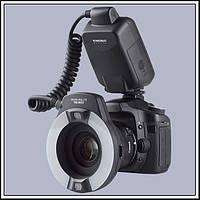 Кольцевая макровспышка Yongnuo YN-14EX для Canon (E-TTL)