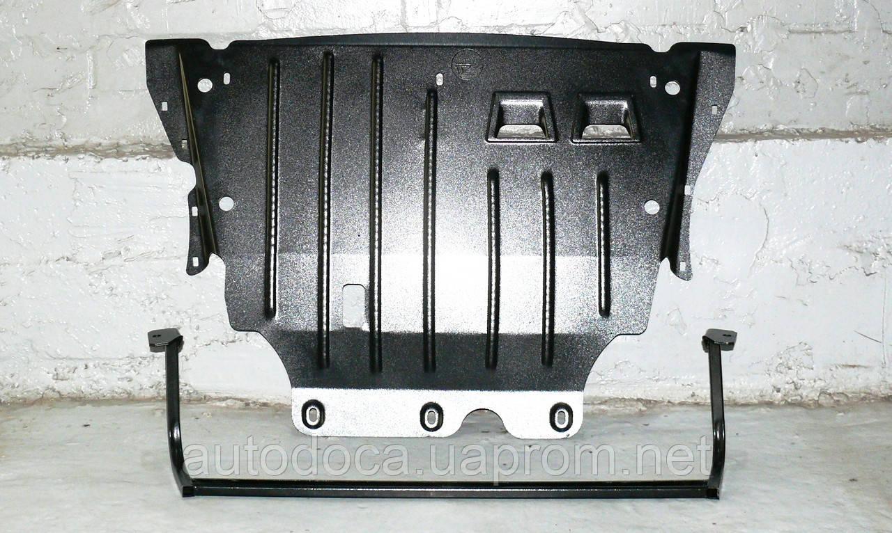 Защита картера двигателя и кпп Skoda Octavia A7 2013-