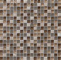 Мозаика для кухонного фартука мрамор и стекло Vivacer DAF1