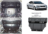 Защита картера двигателя и кпп Skoda Octavia A7 2013-, фото 9