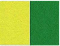 Набор фетр листовой_зеленый, лимонный 3,0 мм