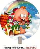 Стенд прищепка пластиковый Код-06143-1