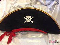 Шляпа пирата с лентой S-15662